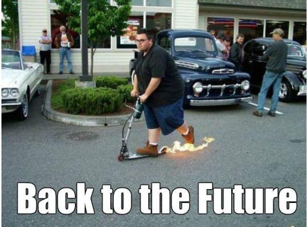 Volver al futuro - meme