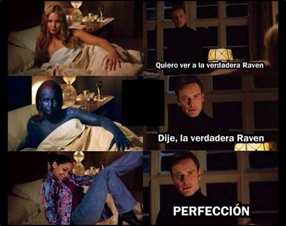La verdadera Raven! - meme