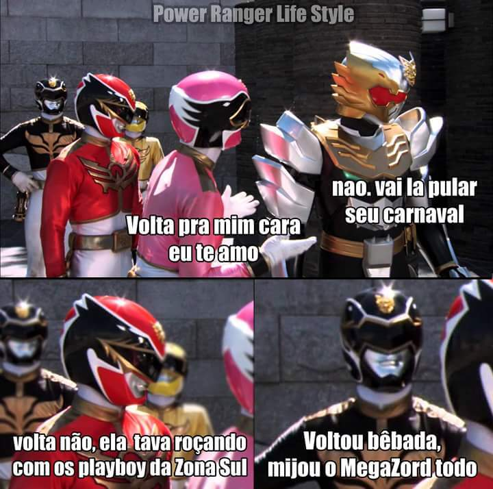 Ranger Rosa das putaria - meme