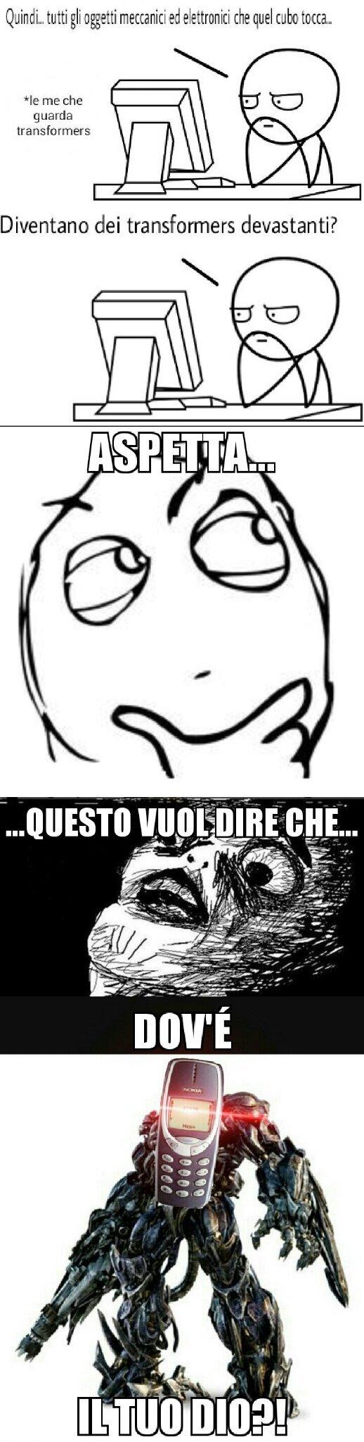 QUALCUNO CHIAMI CHUCK NORRIS! - meme