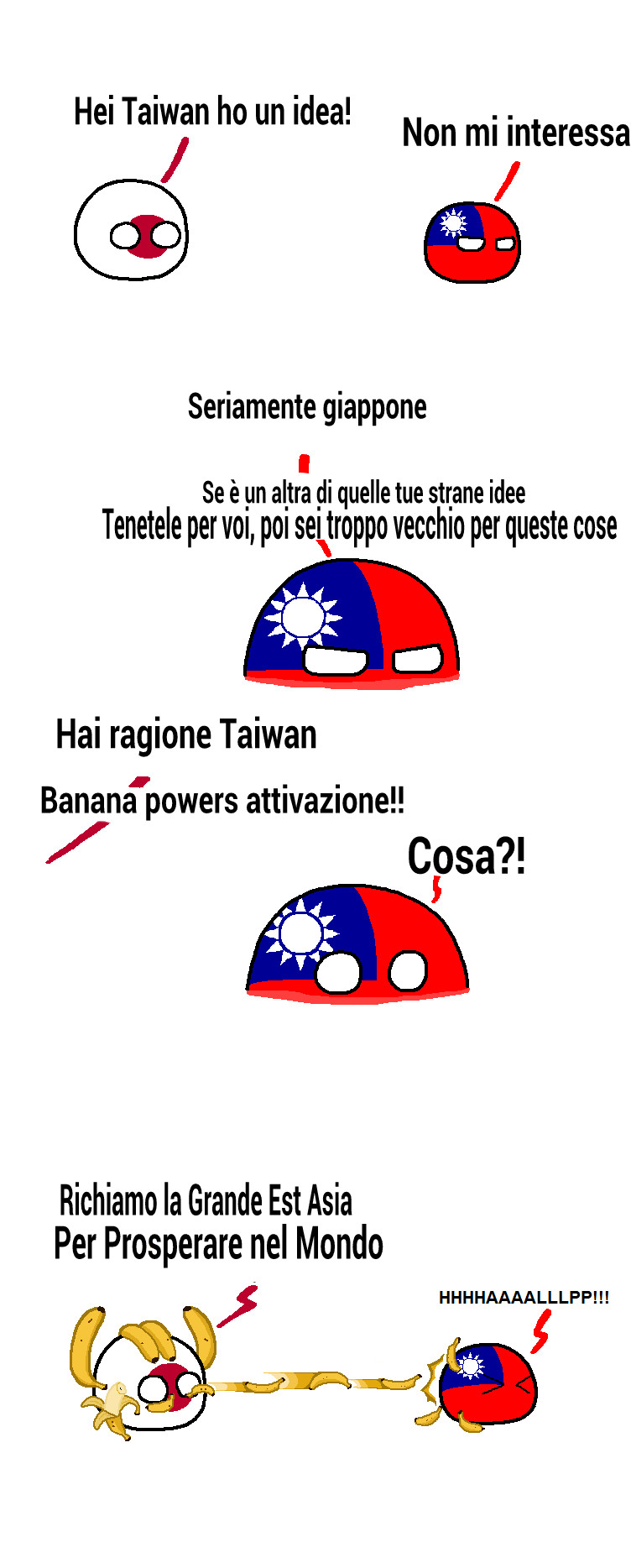 Taiwan is The Best country ball~cito Fizio9000 - meme