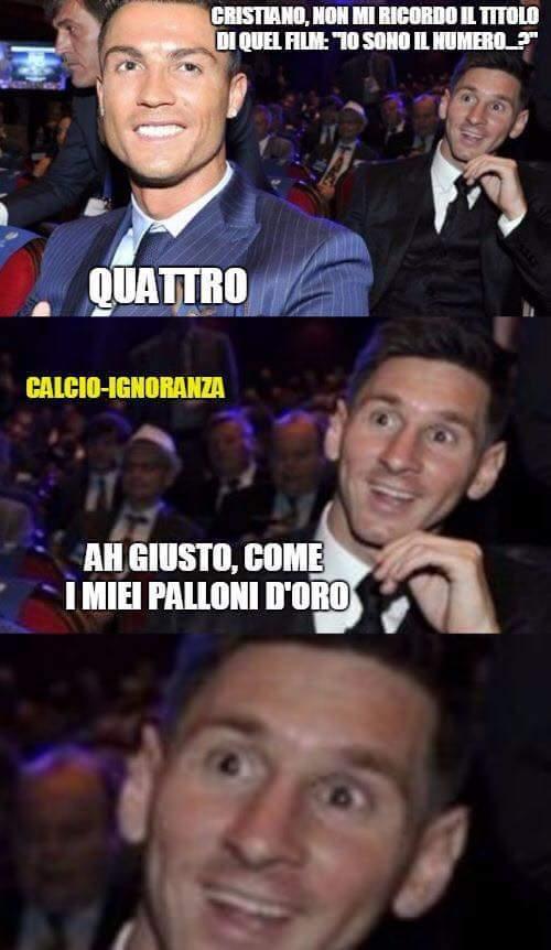 Passate da Calcio-Ignoranza Su FB - meme