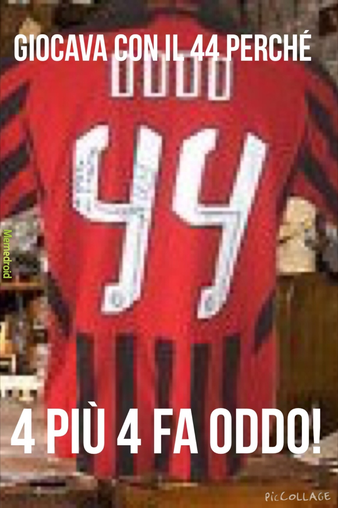 Calciatori birichini - meme