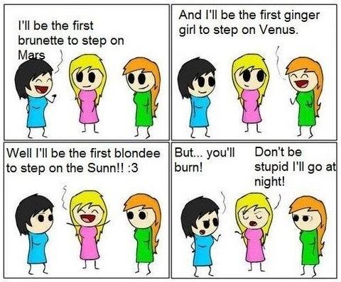 blond - meme