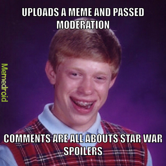 Do NOT go to the comments section if you haven't watched star wars - meme