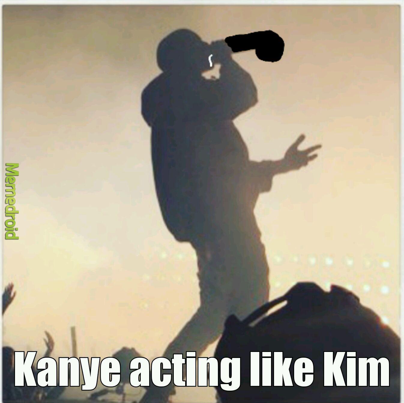 Kanye is a penis puffer - meme