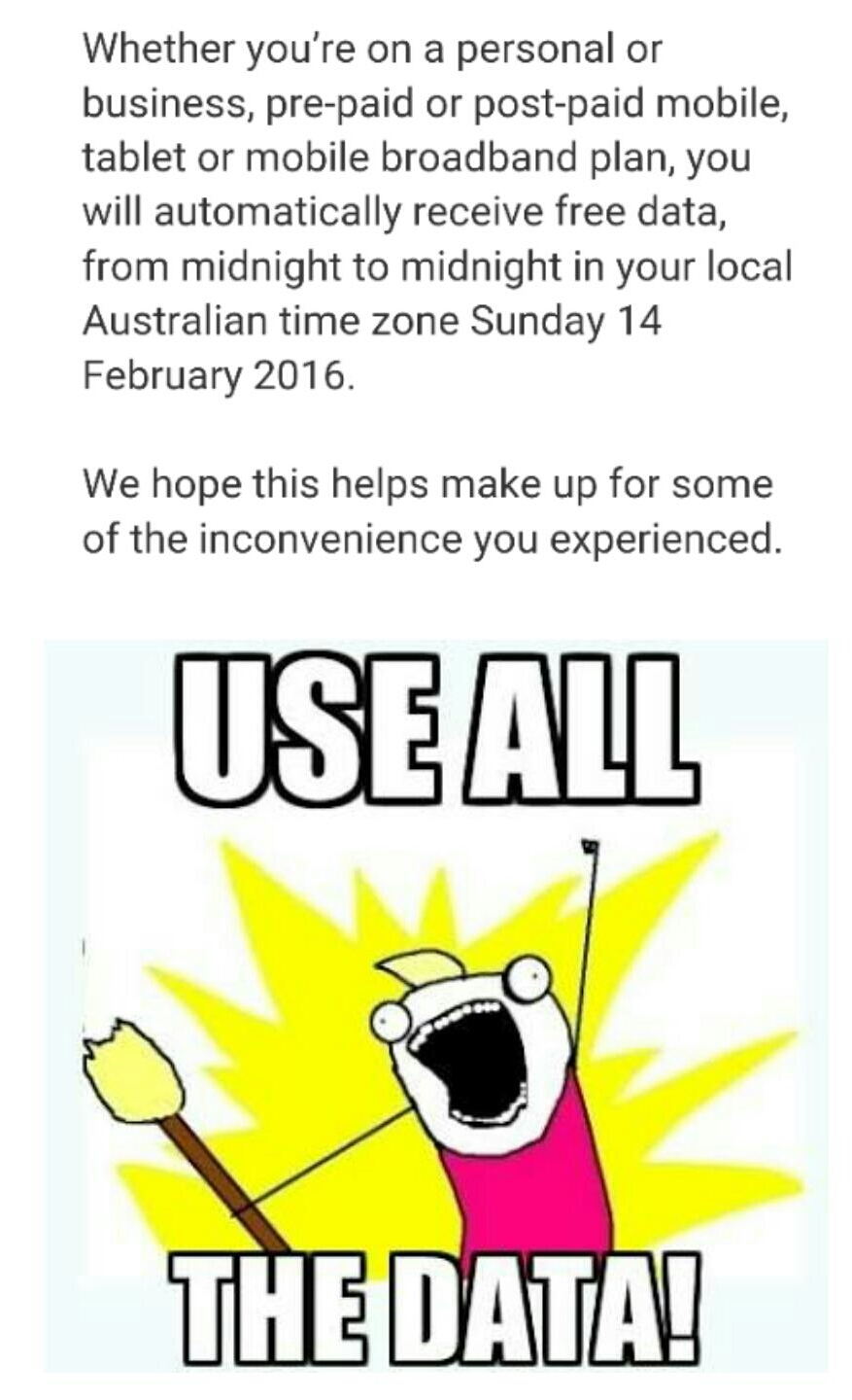 Telstra users be like - meme