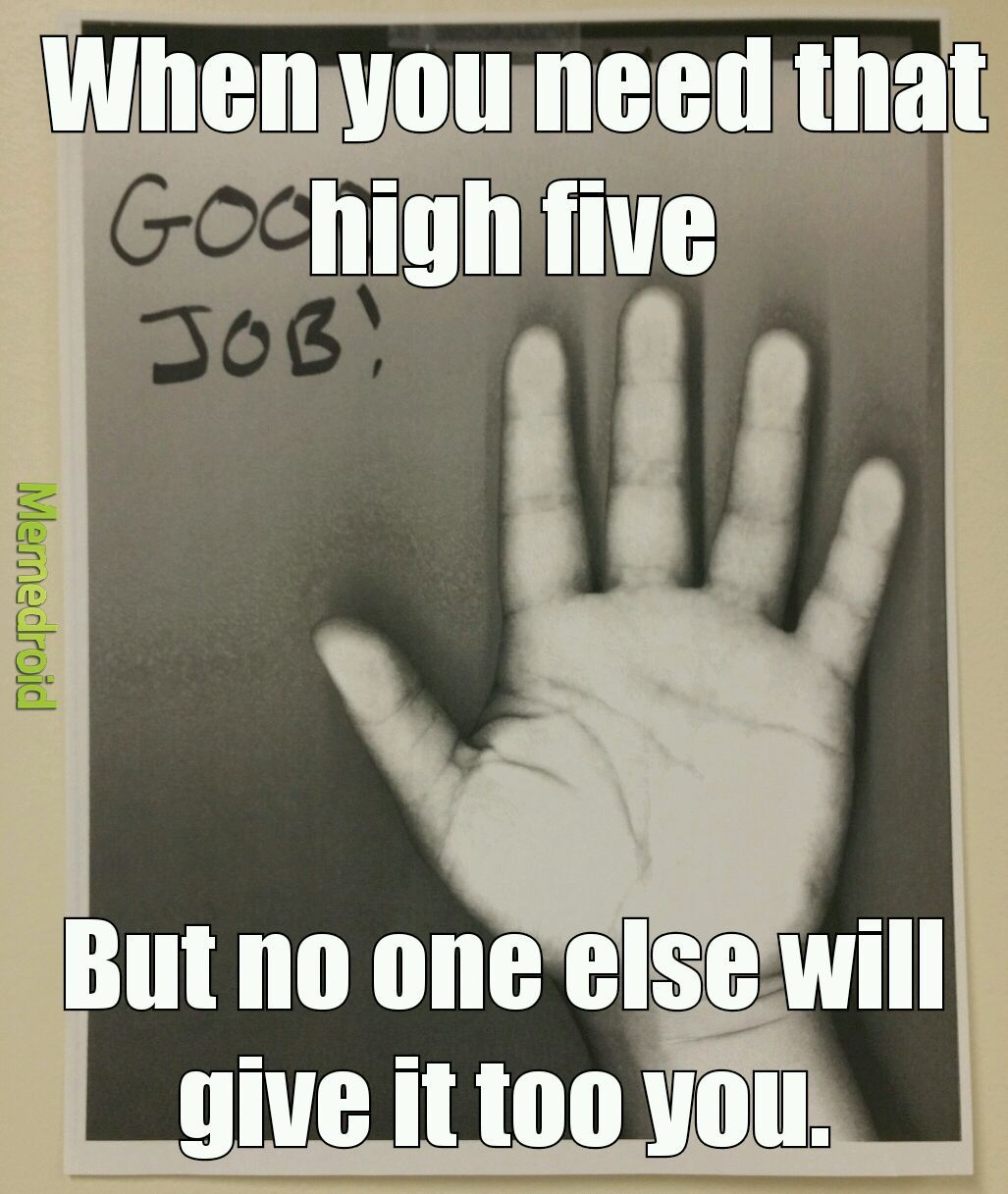 High five. - meme