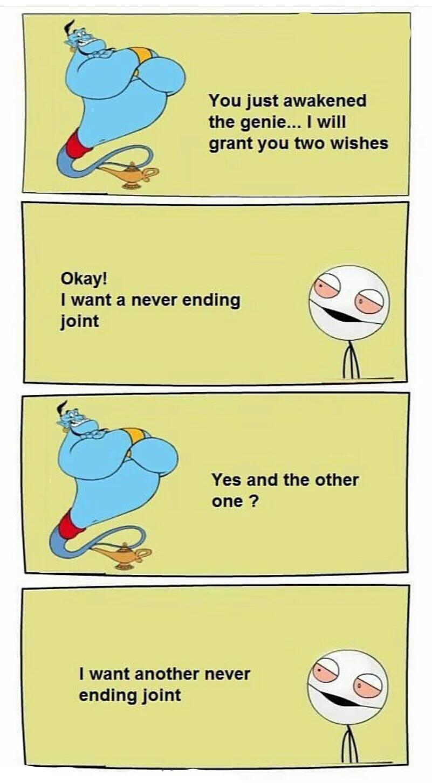 never ending joint - meme