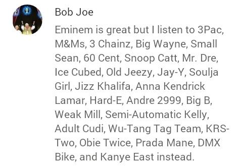 Well Bob Joe has it right - meme