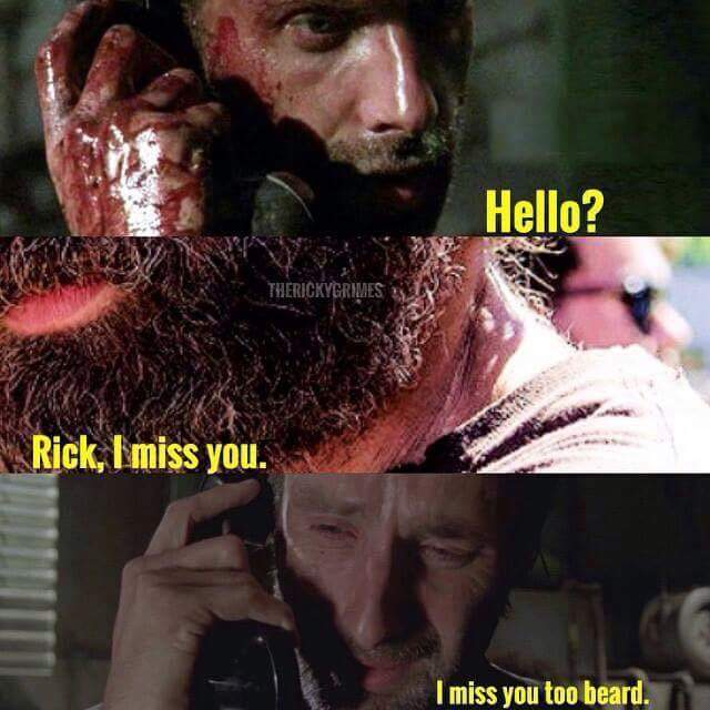 The beard - meme