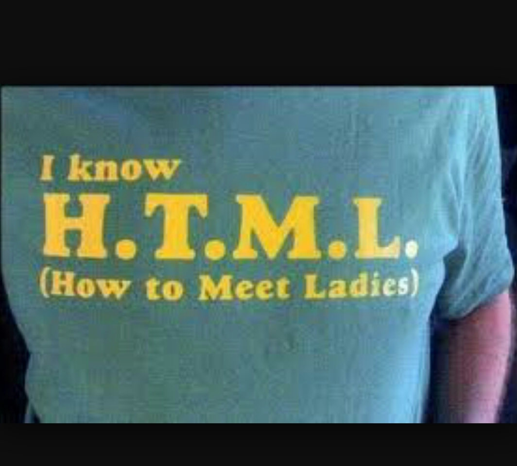Html is great - meme