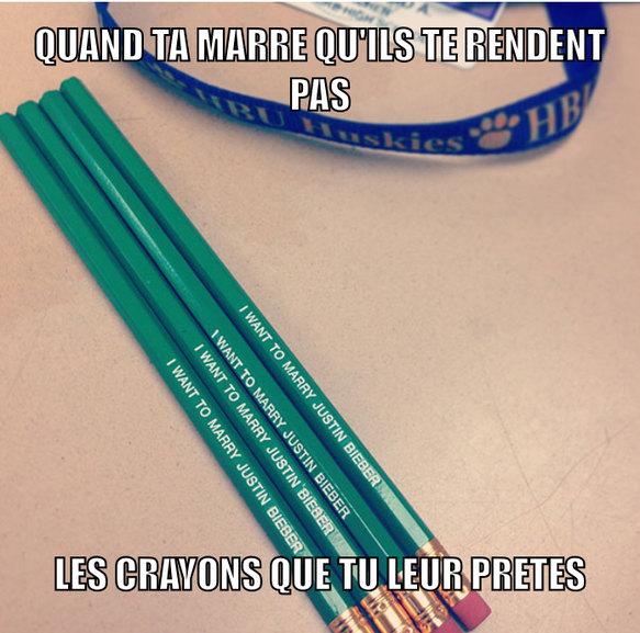 Crayon bieber - meme