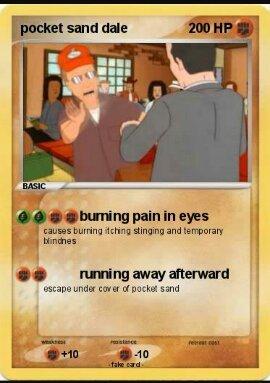 Pocket sand FTW - meme