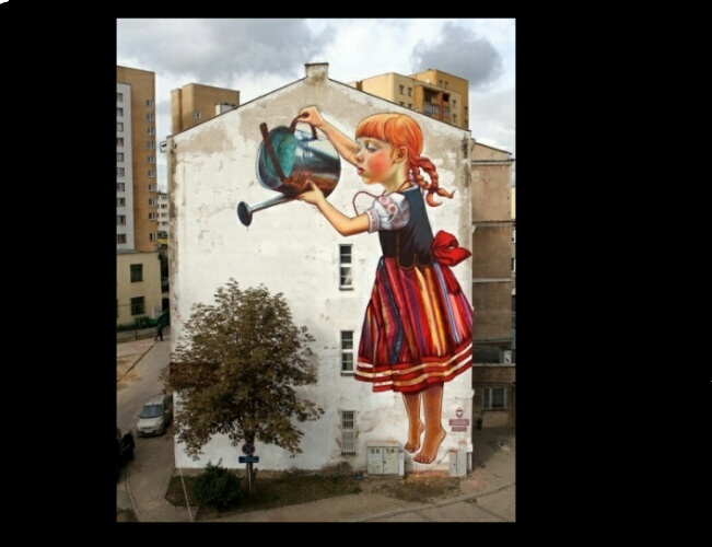Street art - meme