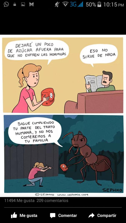 Las hormigas quieren conquistar el mundo!! - meme