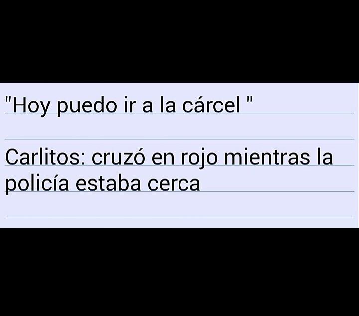 Ese Carlitos... - meme