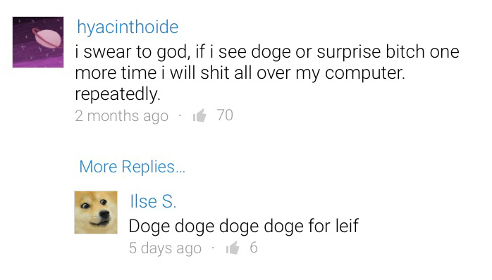 doge for leif, who's jimmies will I rustle - meme