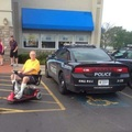Disabled cop?