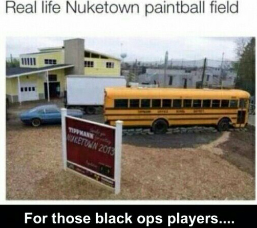 Follow me if you play black ops.... - meme