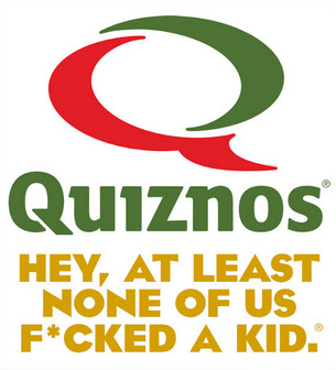 Quiznos savage with this one - meme
