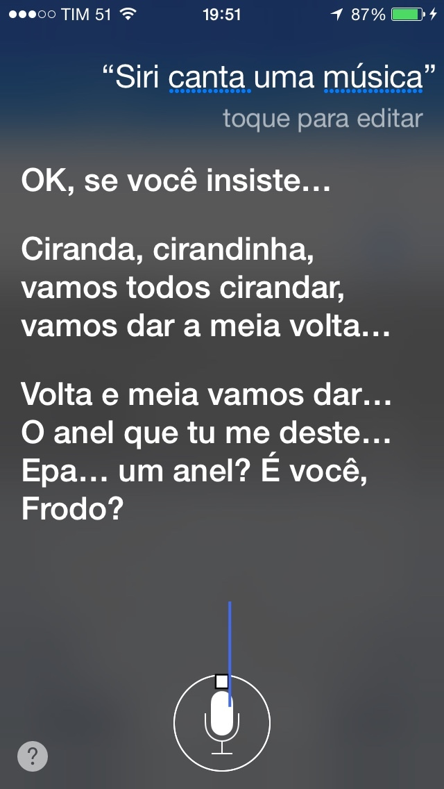 Siri mitando - meme