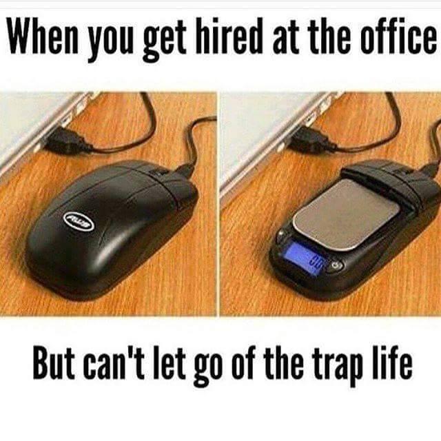 Trap life - meme