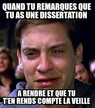 Dissertation - meme
