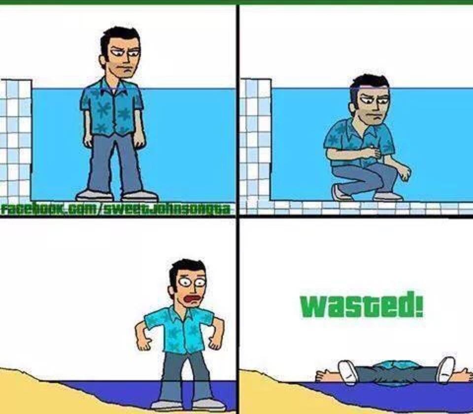 wasted - meme