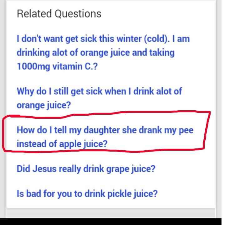 Strange Yahoo questions... - meme