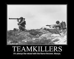 Team killers - meme