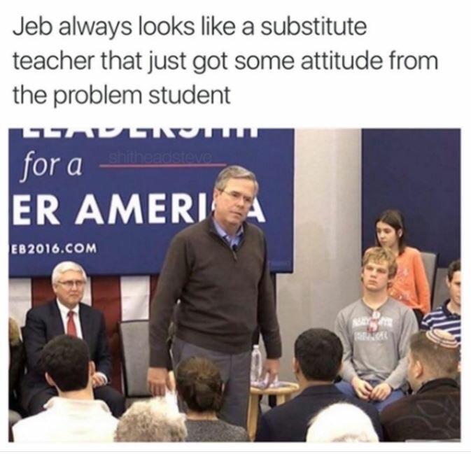the substitute - meme