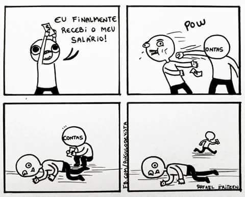 Salário is dead - meme