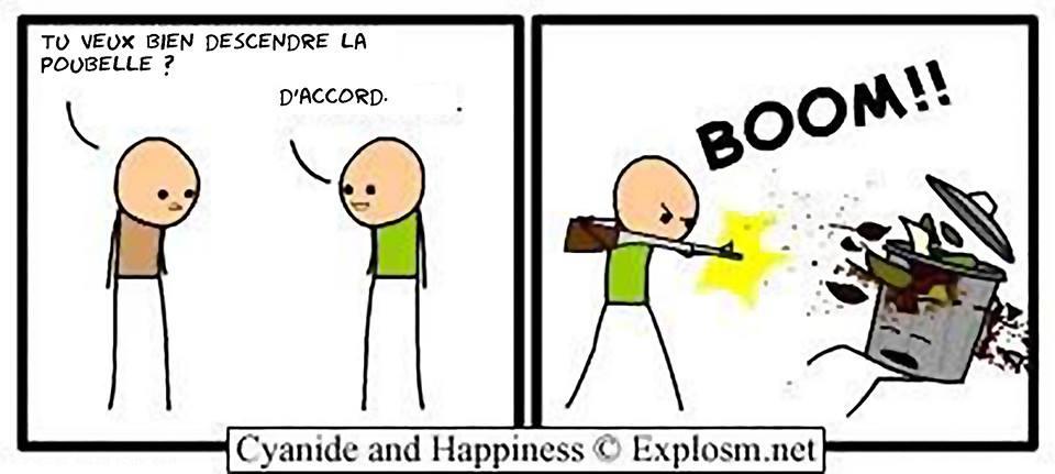 Pour faire plaisir a mariezbeidy :D Cyanide and happiness #7 - meme