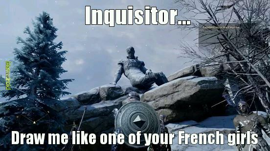 Dragon age inquisition! - meme