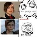 Ellen Page et Ellie se ressemblent!  L'avez vous déjà remarqué? (Ellie vient de The last of us)