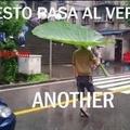 El trauma del paraguas