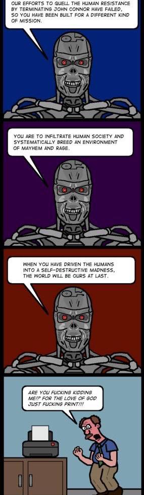 Terminator 5 - meme