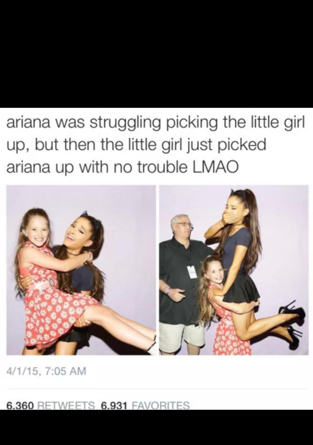 Arianna is life - meme