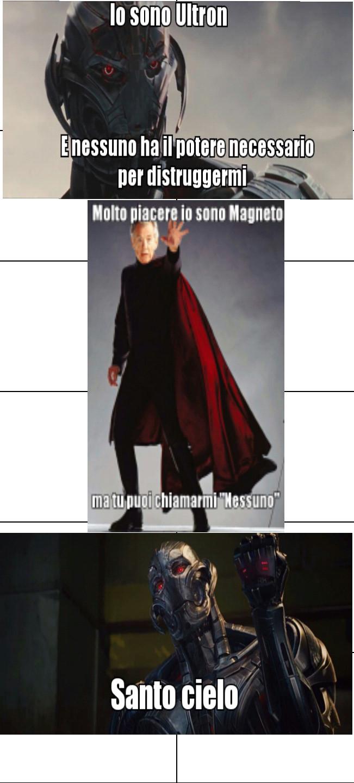 Ulteon Vs Magneto - meme