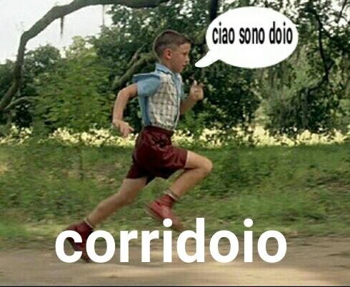 Continua a correre doio!!!! - meme