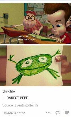 Rarest pepe! :O - meme