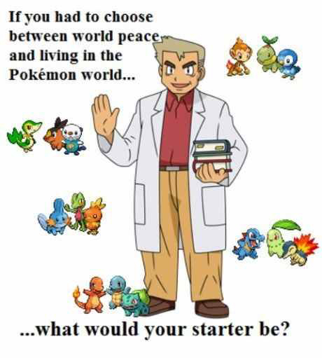 What would your starter be? - meme