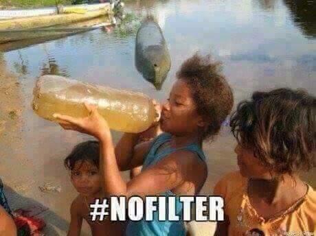 #nofilter - meme