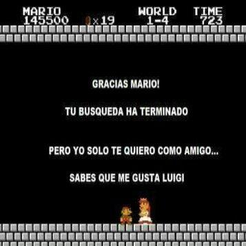 Mario verde gano - meme