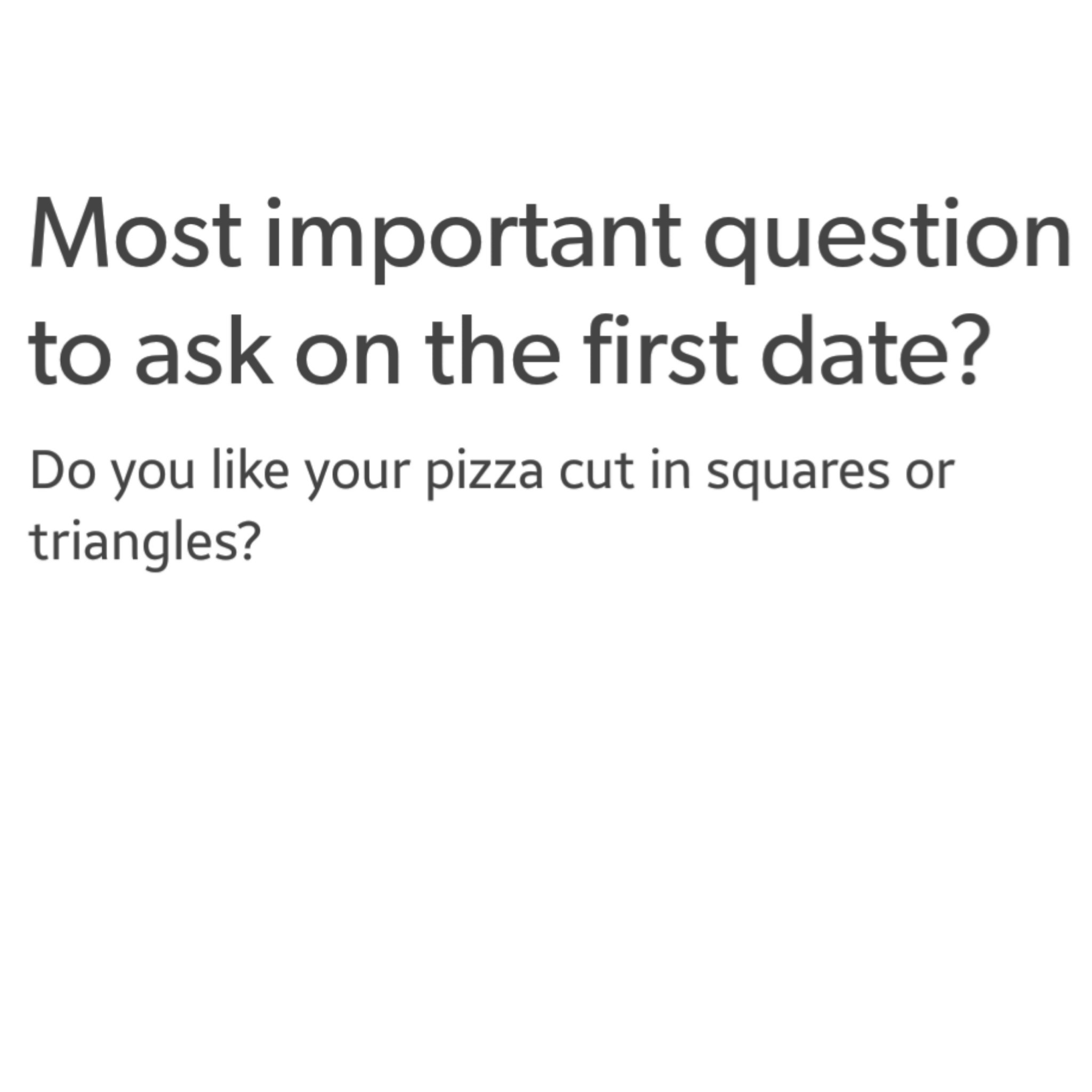 I like squares personally - meme
