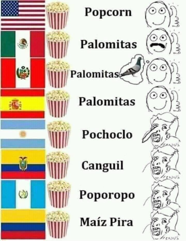 Pochoclo - meme