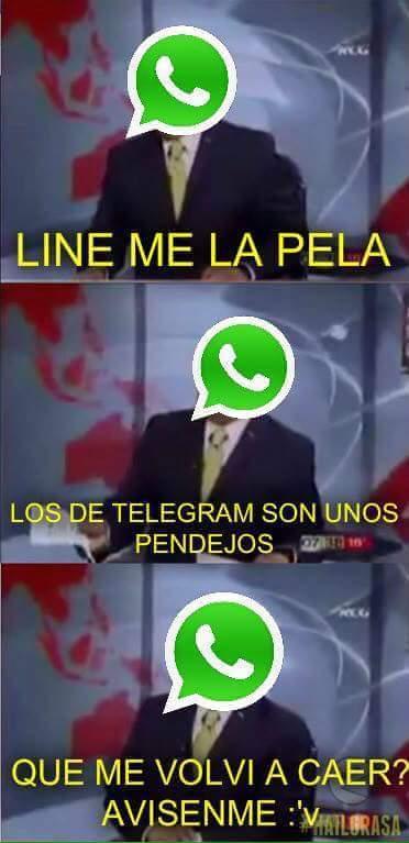 Pinche whatsapp :v - meme