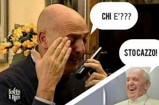 Papa Francesco catifoh! - meme