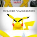 Pikachu zoado = creepy pikachu (to sem criatividade ;-;)